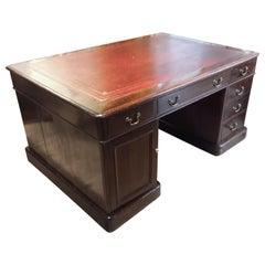 Mahogany Partners' Desk