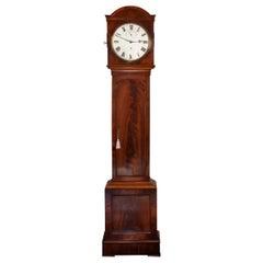Mahogany Regulator Longcase Clock of Month Duration