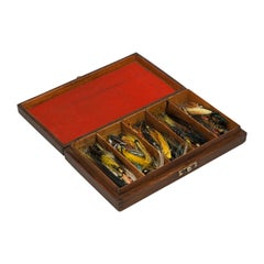 Mahogany Salmon Fishing Fly Box, Hardy's Fishing Tackle