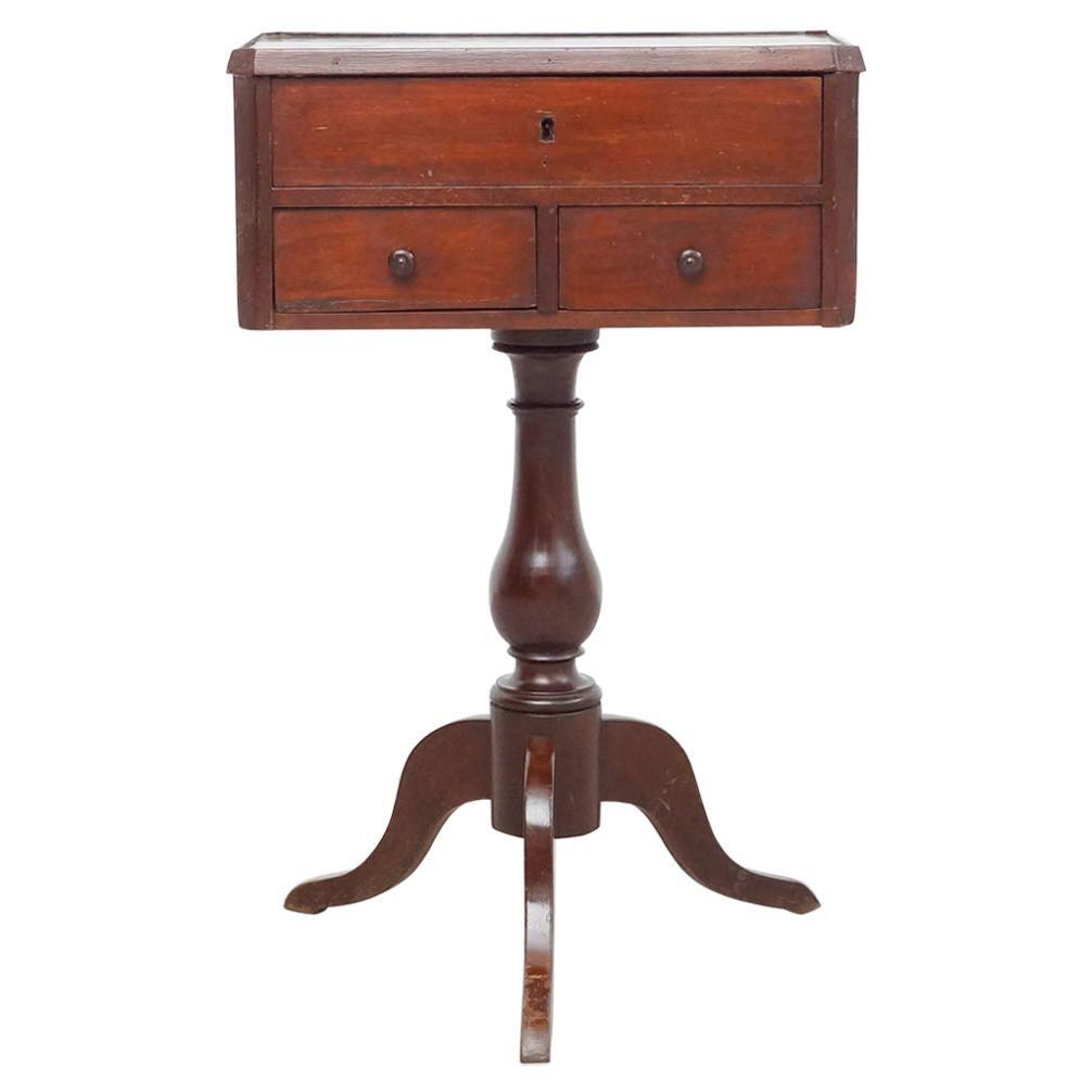 Mahogany Sewing Table, circa 1800