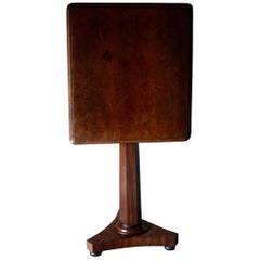 Mahogany Side, End Table, English Side Table, 19th Century Coffee Table