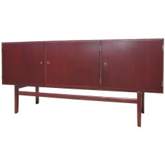 Mahogany Sideboard by Ole Wanscher for Poul Jeppesen