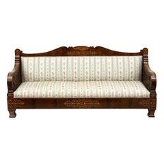 Mahogany Sofa, Italy, Early 19th Century