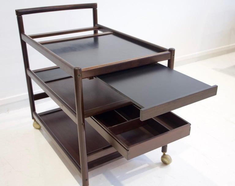 Mahogany Tray Table Attributed to Johannes Andersen 4