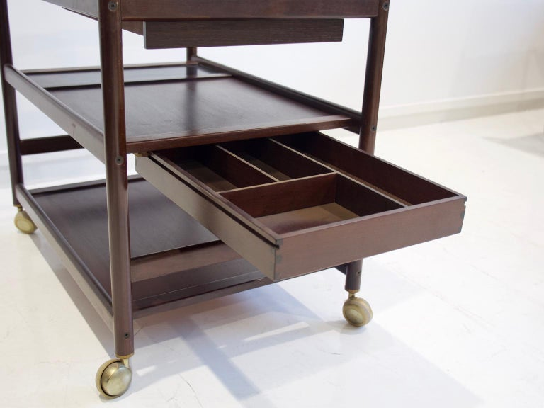 Mahogany Tray Table Attributed to Johannes Andersen 5