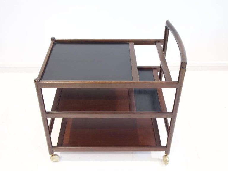 20th Century Mahogany Tray Table Attributed to Johannes Andersen