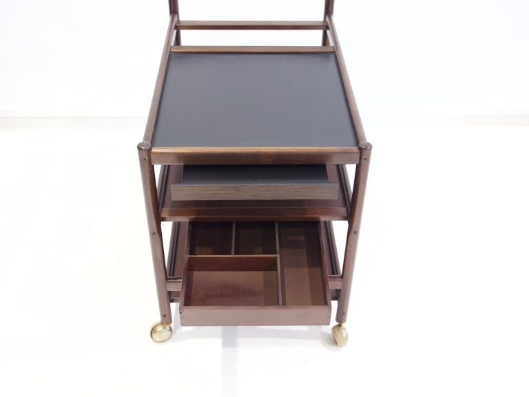 Mahogany Tray Table Attributed to Johannes Andersen 2