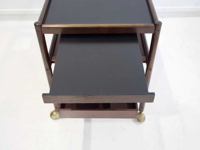 Mahogany Tray Table Attributed to Johannes Andersen 3
