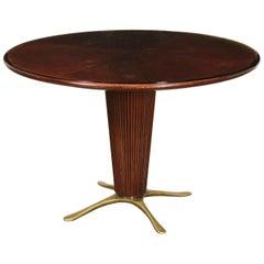 Mahogany Vintage Table, Italy, 1950s