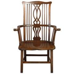Mahogany Windsor Armchair