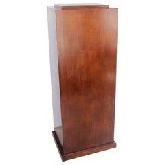 Mahogany Wood Pedestal