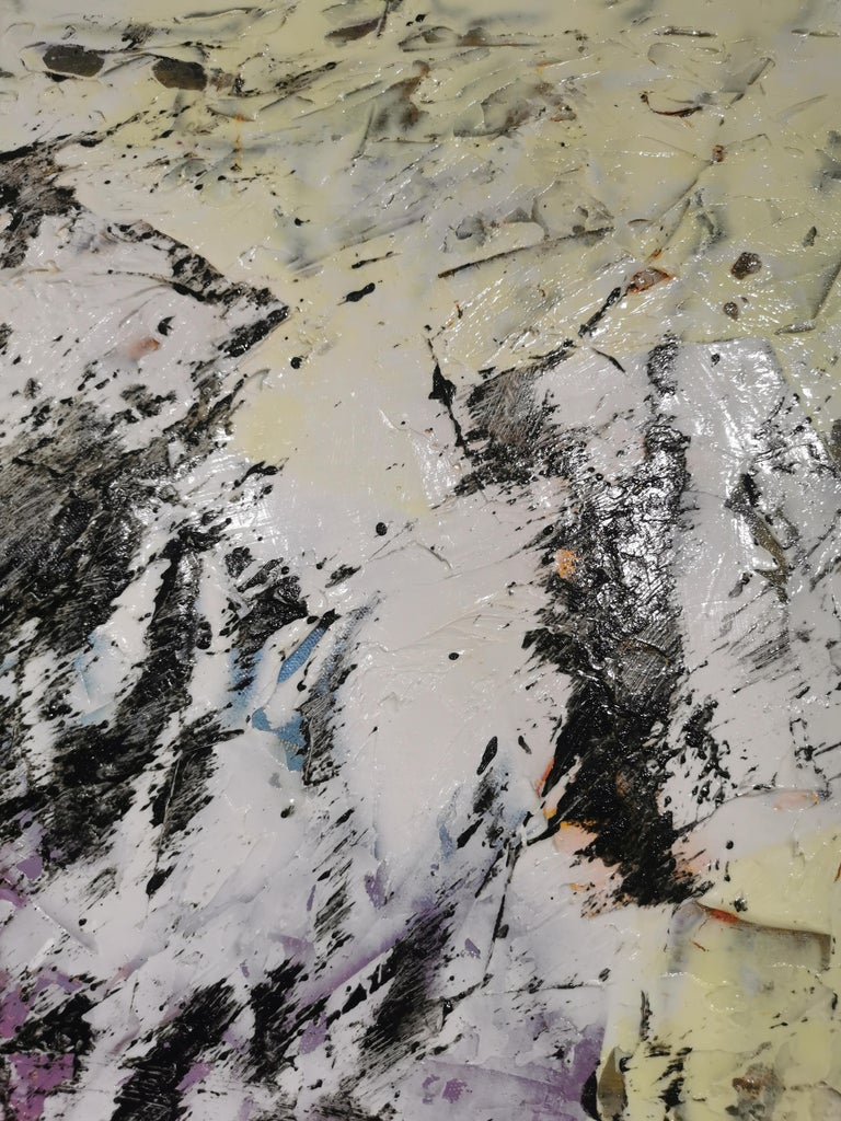Large Abstract Acrylic Painting