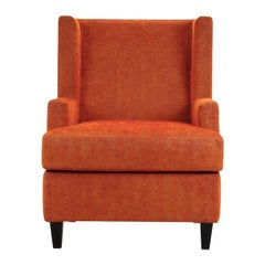 Maidin Orange Armchair