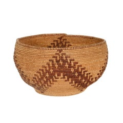 Native American Maidu Basket