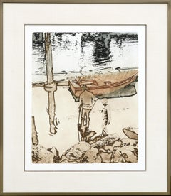 """Crab Hunt"" Etching"