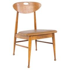 Mainline by Hooker Mid Century Walnut Desk Dining Chair