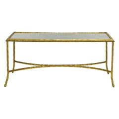 Maison Baguès Bronze Coffee Table
