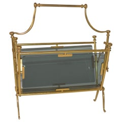 Maison Bagues French Vintage Magazine Rack