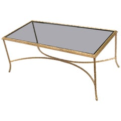 Maison Baguès Gilt Bronze Coffee Table