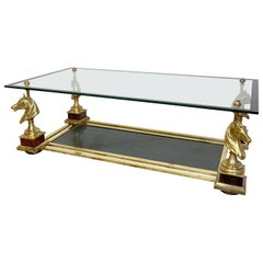 Maison Charles 'Cheval' Horse Head Coffee Table