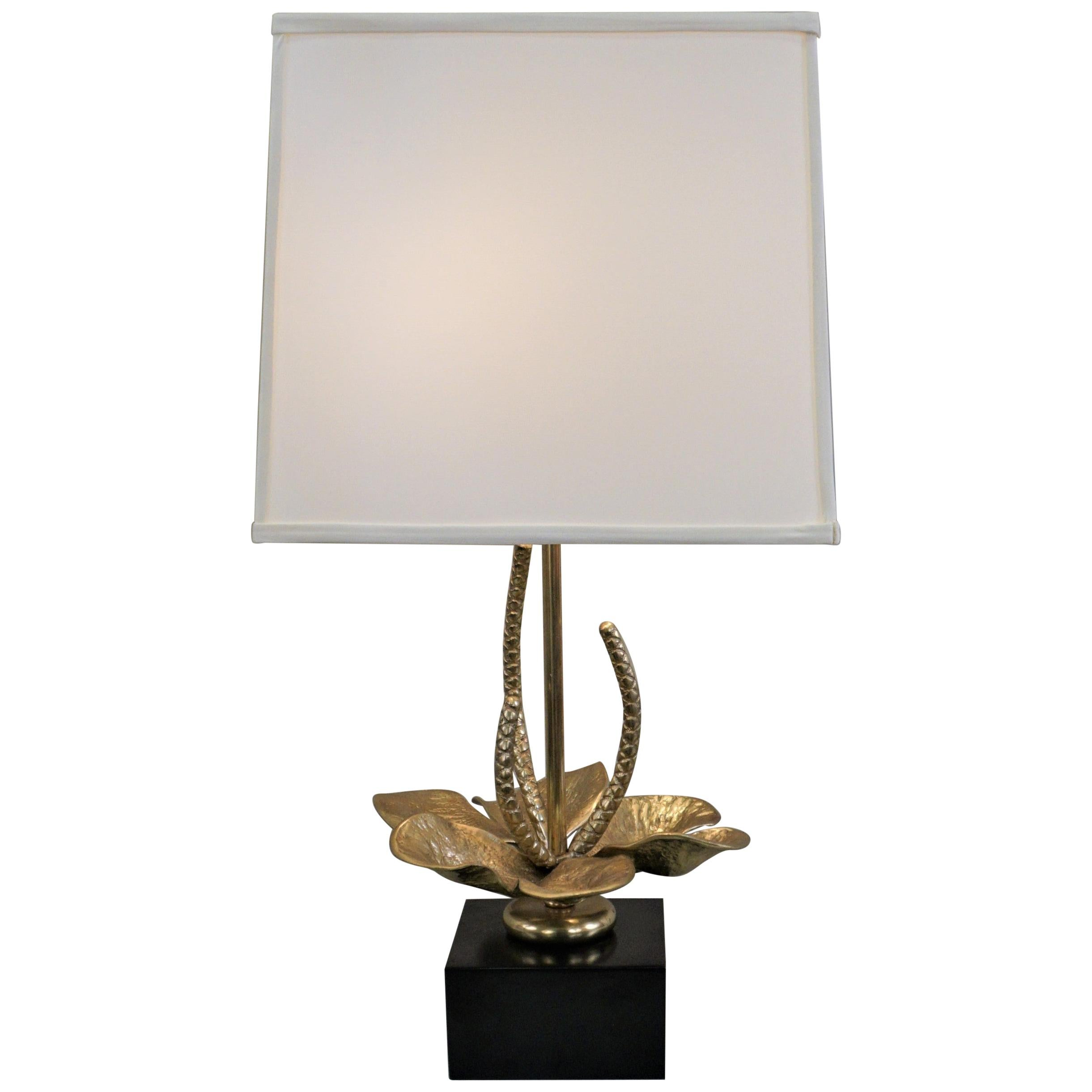Maison Charles Style Bronze Table Lamps