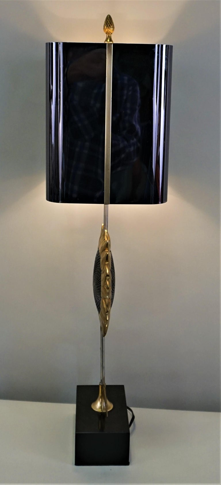 Maison Charles, Sunflower Table Lamp For Sale 1