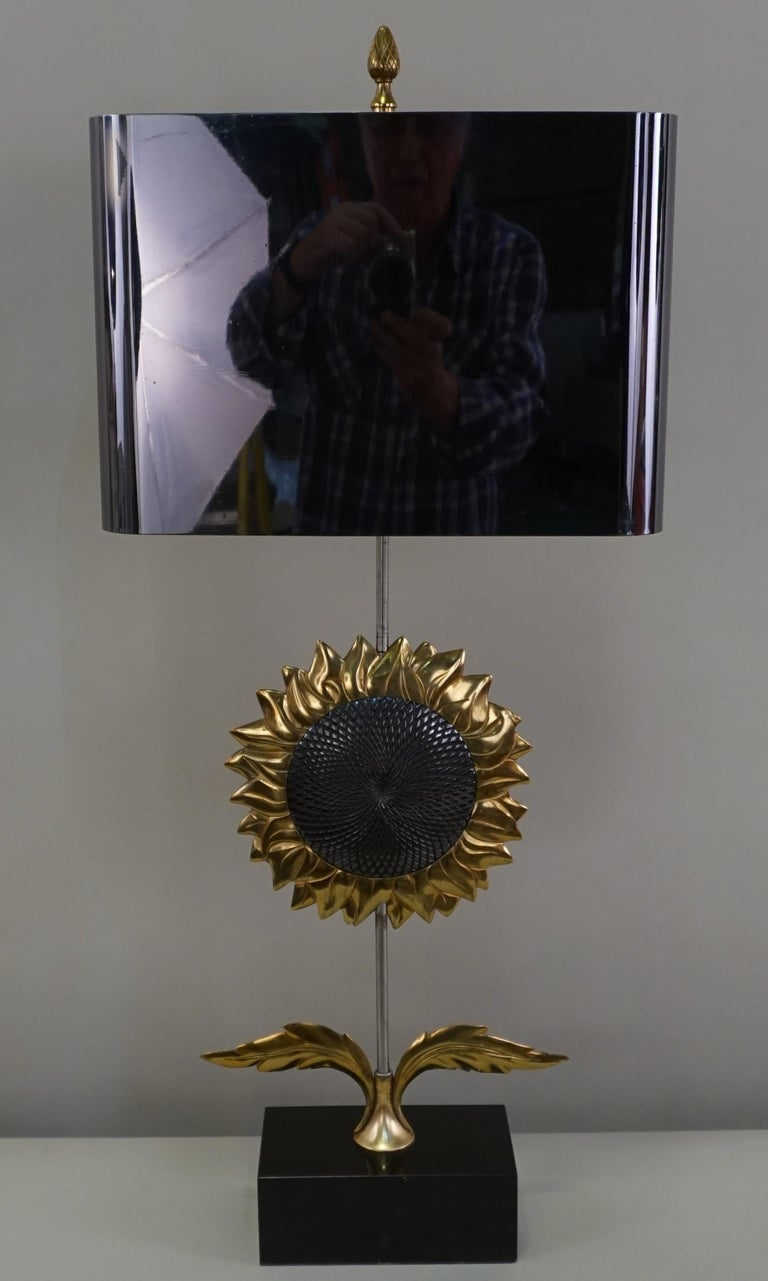 Maison Charles, Sunflower Table Lamp For Sale 3
