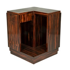 Maison Dominique Macassar Ebony Moderne Occasional Table