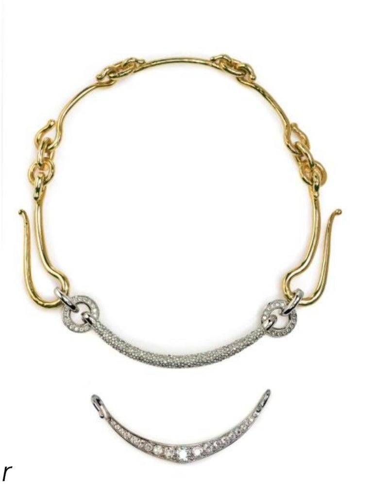 Women's or Men's Maison Holleville Link Me Architectural Necklace For Sale