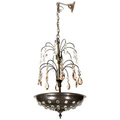 "Maison Jansen Art Deco ""Fountain"" Chandelier"