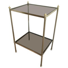 Maison Jansen, Brass Side Table, circa 1940
