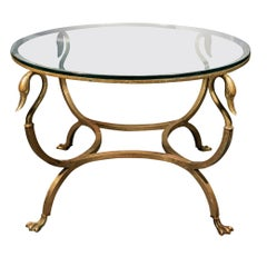 Maison Jansen, Circular Coffee Table, France, circa 1970