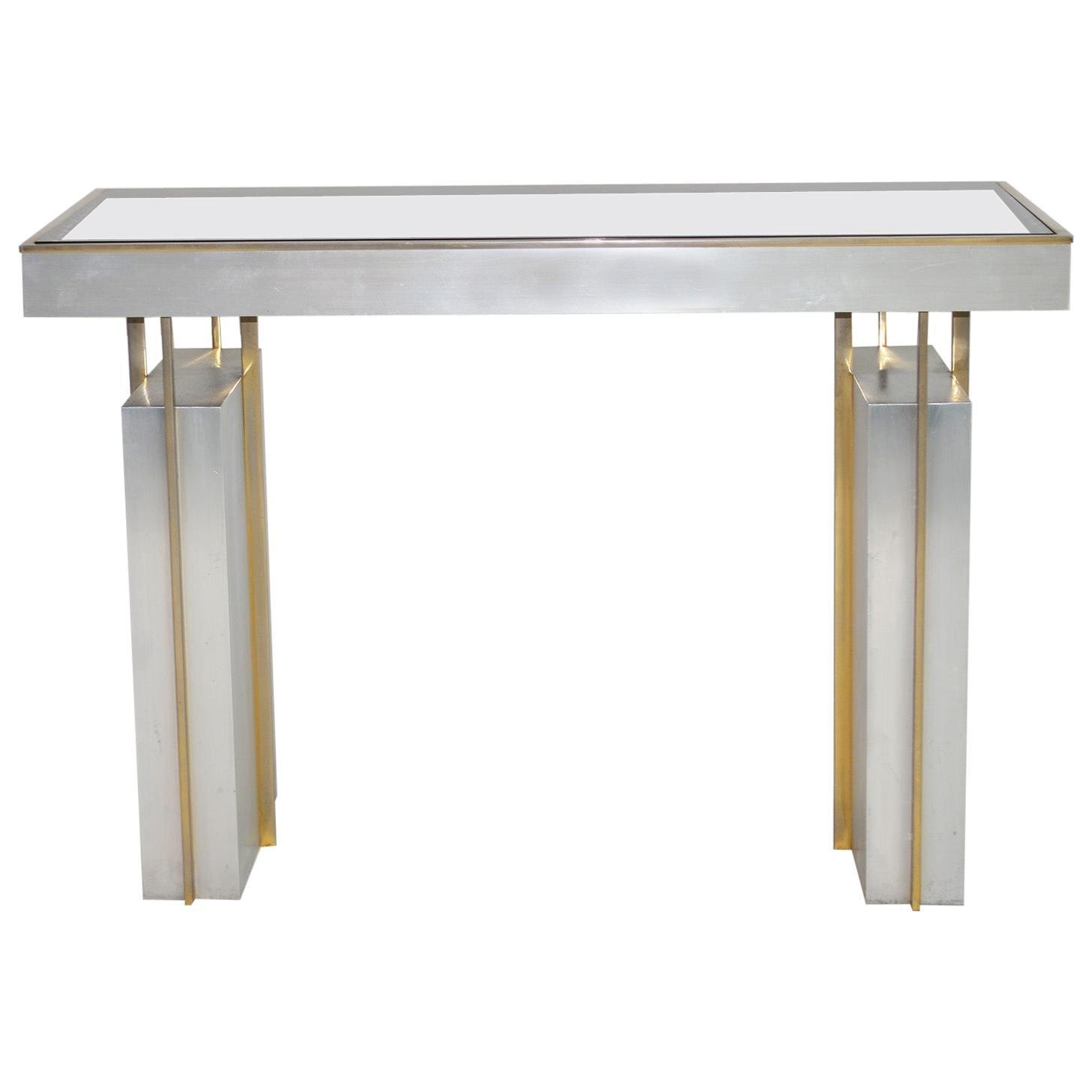 Maison Jansen Console Table or Desk, France, circa 1963