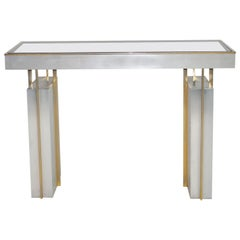 Maison Jansen Console Table or Desk, France, circa 1963