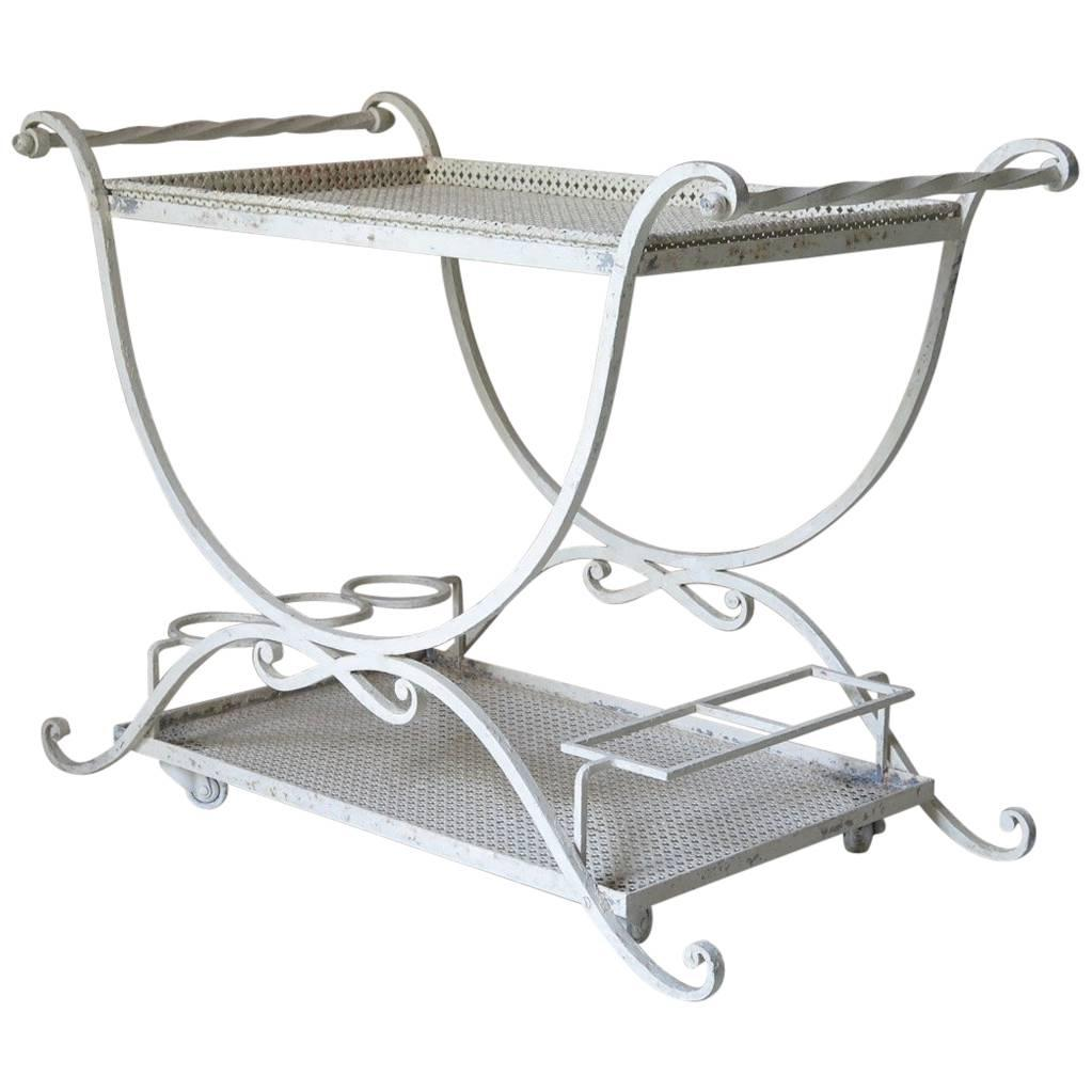 Maison Jansen Drinks Trolley, France, circa 1950s