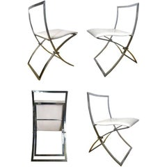 Maison Jansen Folding Chairs