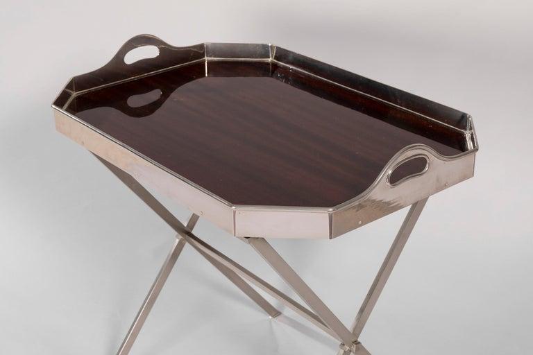 Mid-Century Modern Maison Jansen Folding Table, 1970s