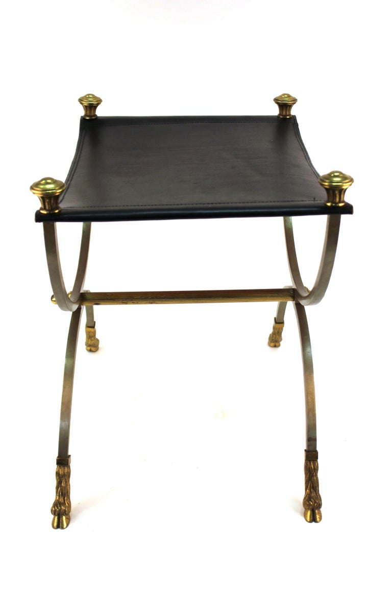 Maison Jansen French Neoclassical Revival Style Bench With