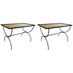 Maison Jansen Mid-Century Modern French Coffee Center Tables, 1950