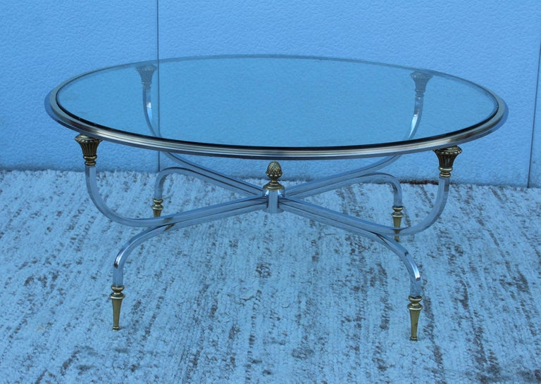 French Maison Jansen Modern Coffee Table For Sale
