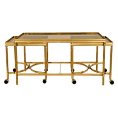 Maison Jansen Nesting Coffee Table Set