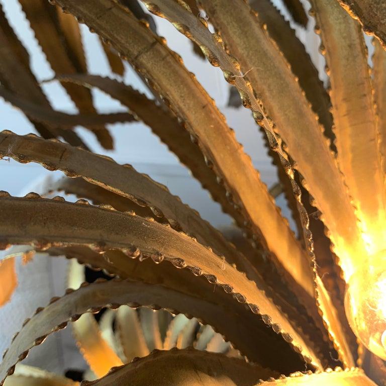 Maison Jansen Palm Tree Lamp, 1970s For Sale 5