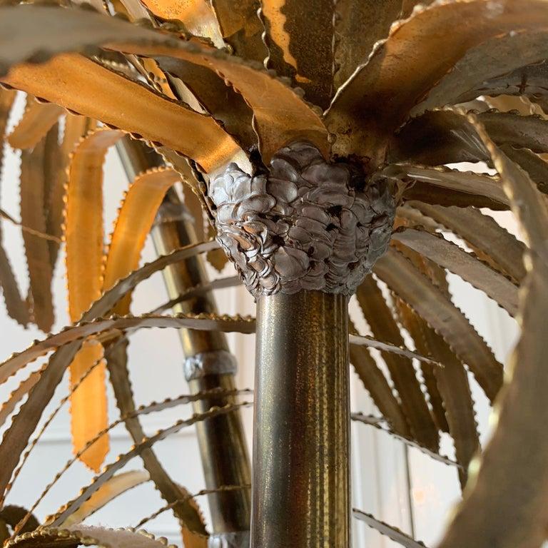 Maison Jansen Palm Tree Lamp, 1970s For Sale 7