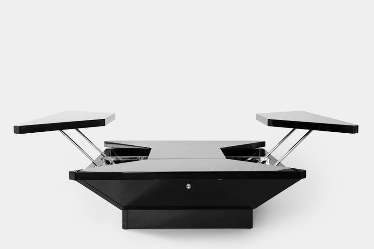 Lacquered Maison Jansen 'Petales' Coffee Table For Sale