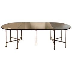 "Maison Jansen ""Royal"" Dining Hall Table, 1960s"