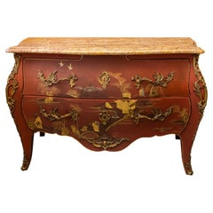 Maison Jansen, Sideboard in the Style of Louis XV, France, circa 1950