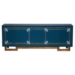 Maison Jansen Sideboard with Shell Inlay Details