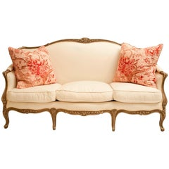 Maison Jansen Stamped Sofa, Louis XV Style, France