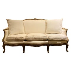 Maison Jansen Stamped Sofa, Louis XV Style, France