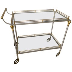 Maison Jansen Style Bar or Serving Cart